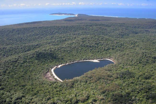 Lake Poona, Double Island, Double Island Point
