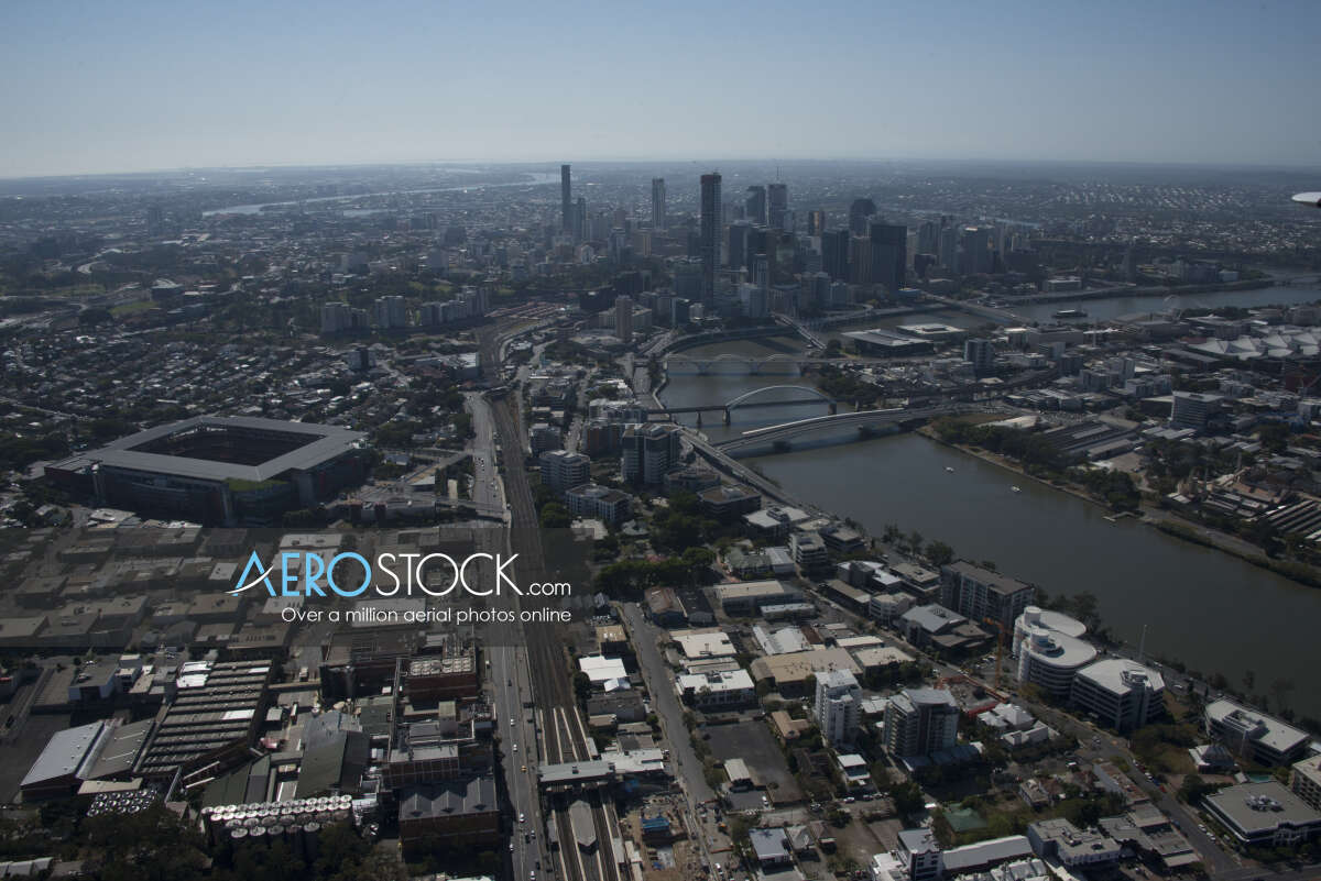 High resolution snapshot of Auchenflower, Brisbane