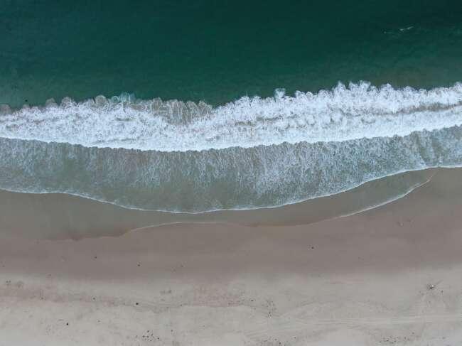 Barrack Point surf