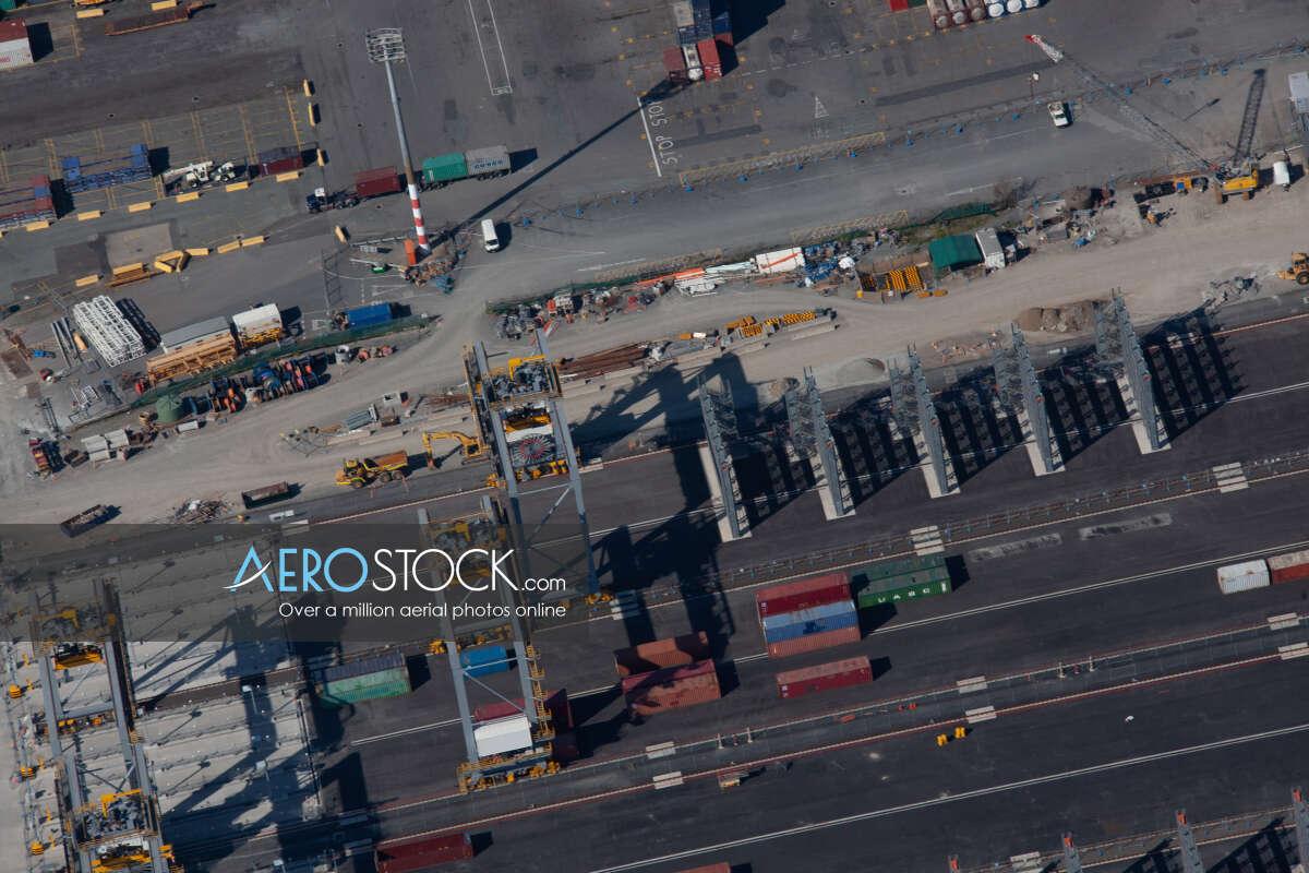 Panoramic aerial photo of Brisbane taken on November 3rd, 2013 07:52.