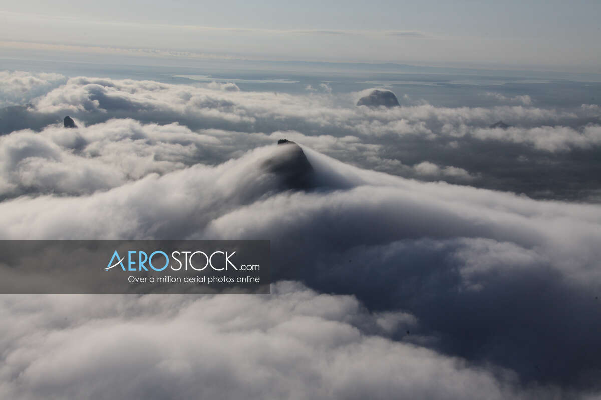 High definition panoramic aerial photo of Sunshine Coast.