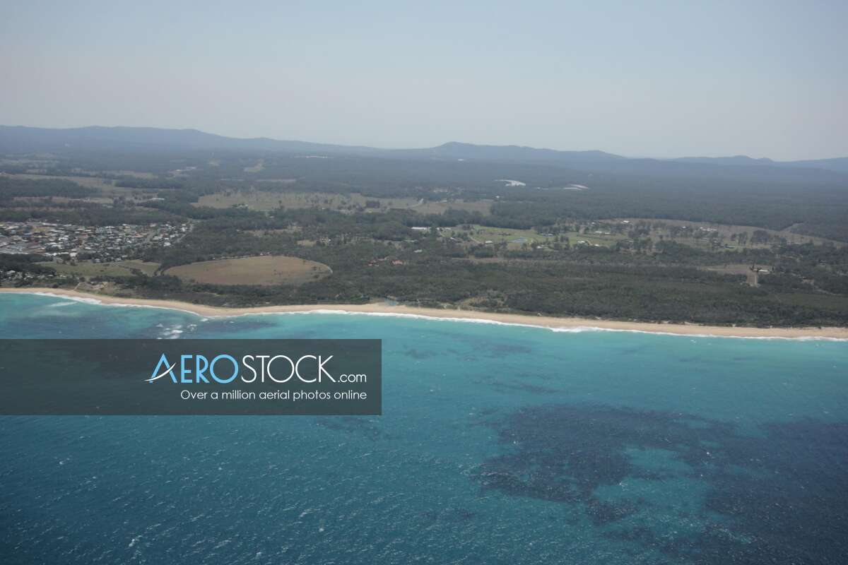 Drone snapshot of Coffs Harbour, New South Wales.