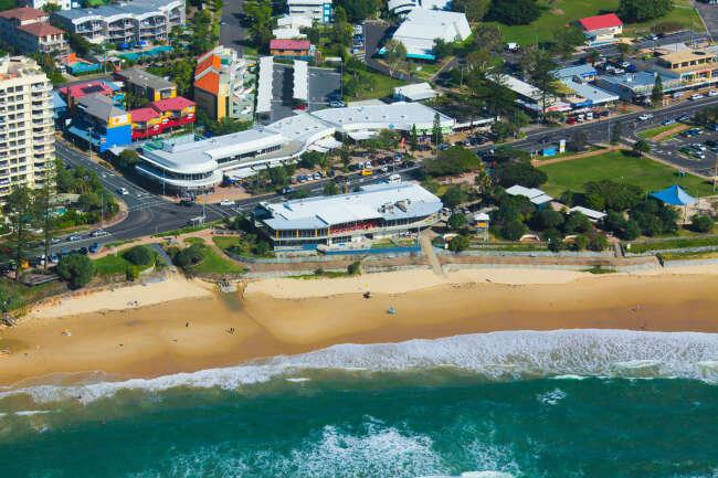 Coolum Beach Surf Club in 2012