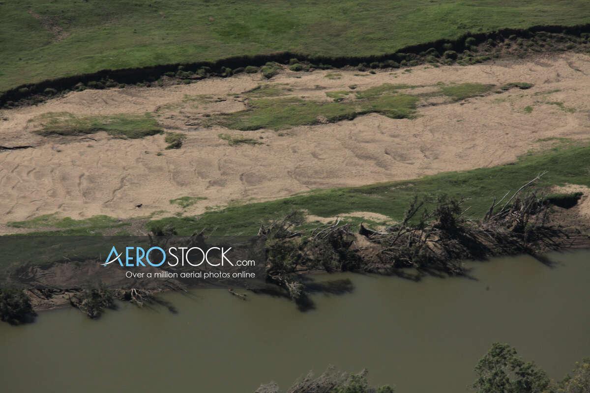 Drone image of Yimbun, Somerset.