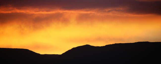 Mountains Burning