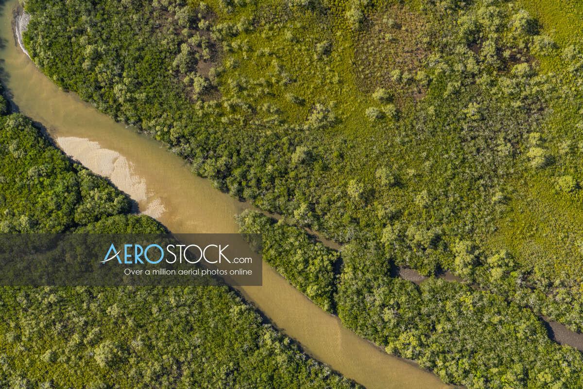 High DPI snapshot of Coochin Creek, Sunshine Coast.