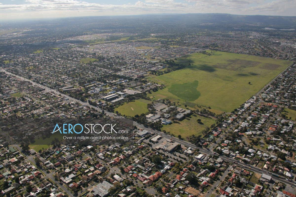 Drone panoramic aerial photo of Broadview, 5083, Australia