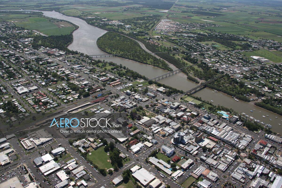 Sharp and finely detailed stock image of Bundaberg, QLD.