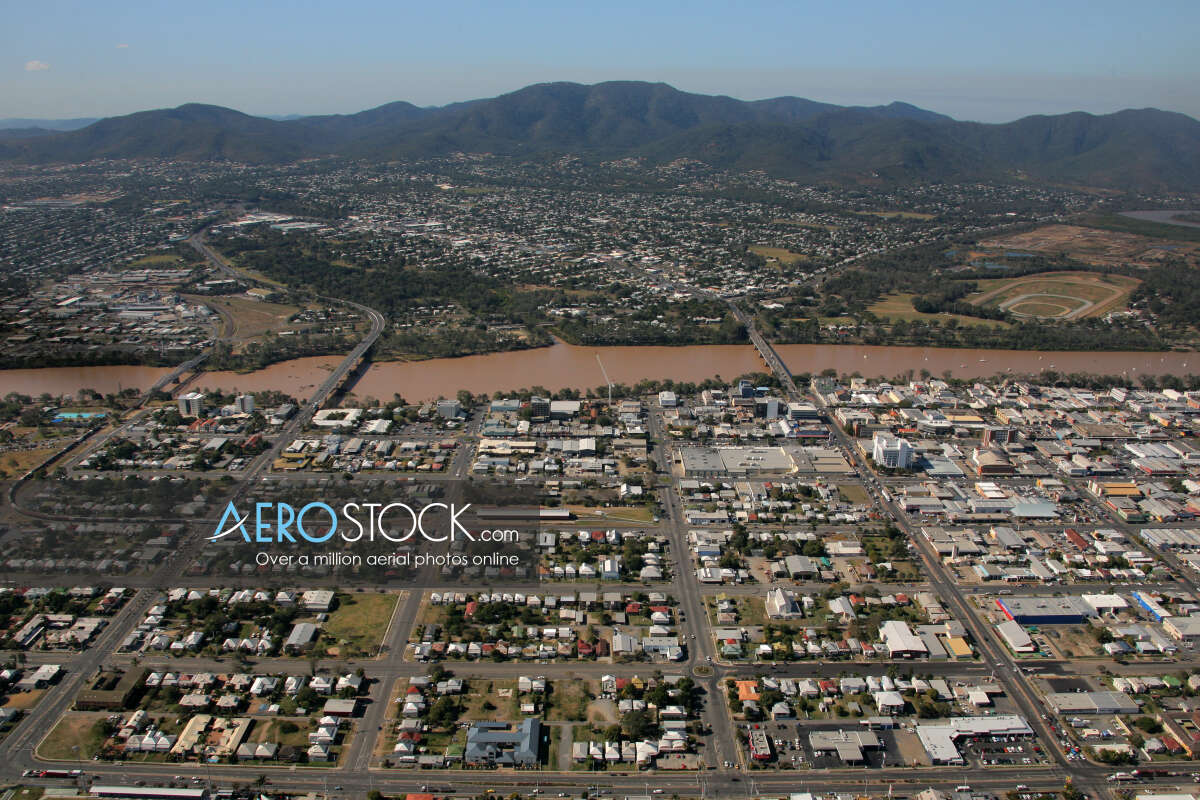 UAV panoramic aerial photo of Allenstown, 4700, Australia