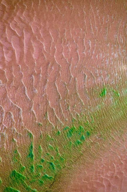 Oxidised sand ripples, Arafura Sea NT.
