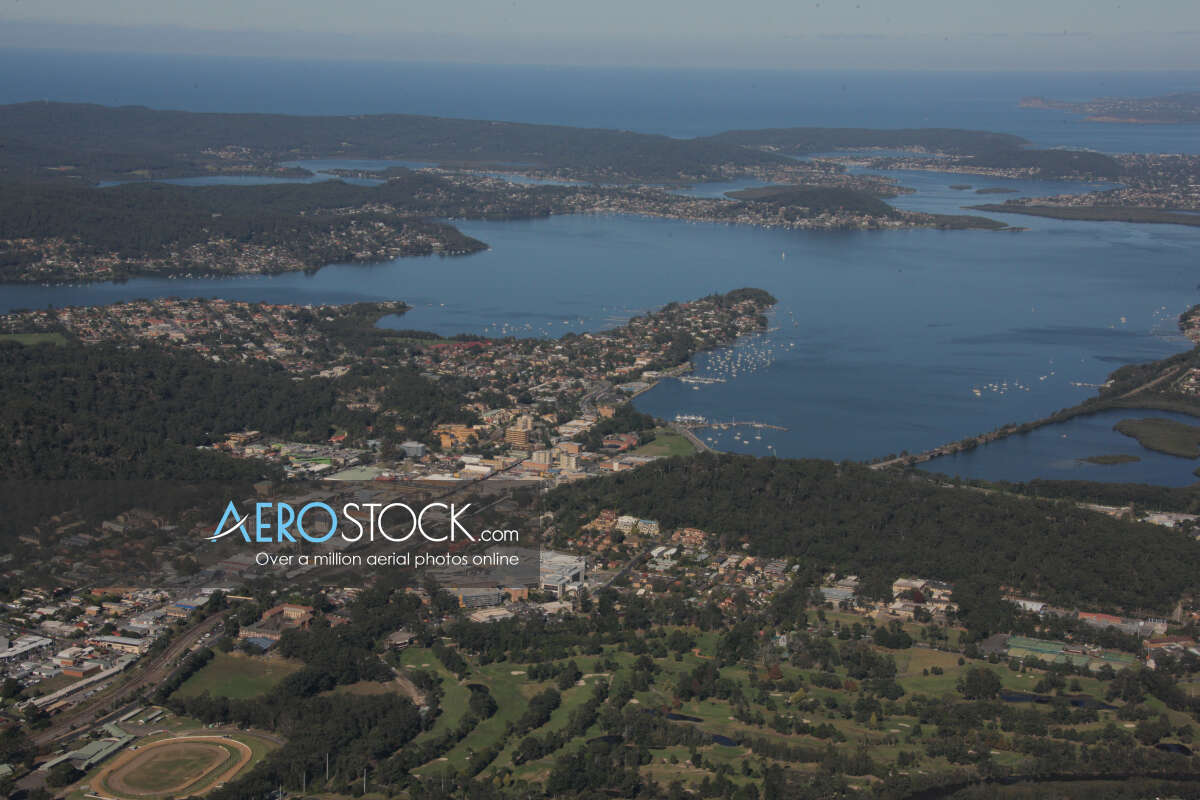 Incredible aircraft pic of Central Coast