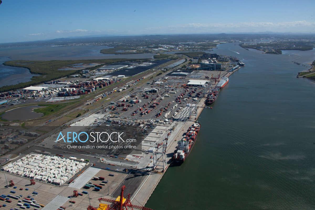 High quality stock image of Port Of Brisbane, QLD