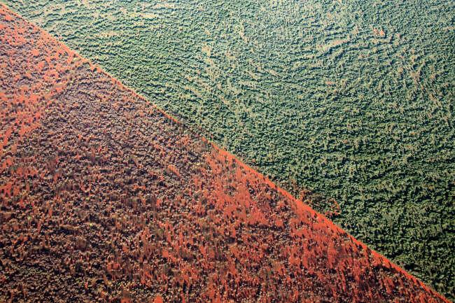 Above Photography aerial image of Burt Plain