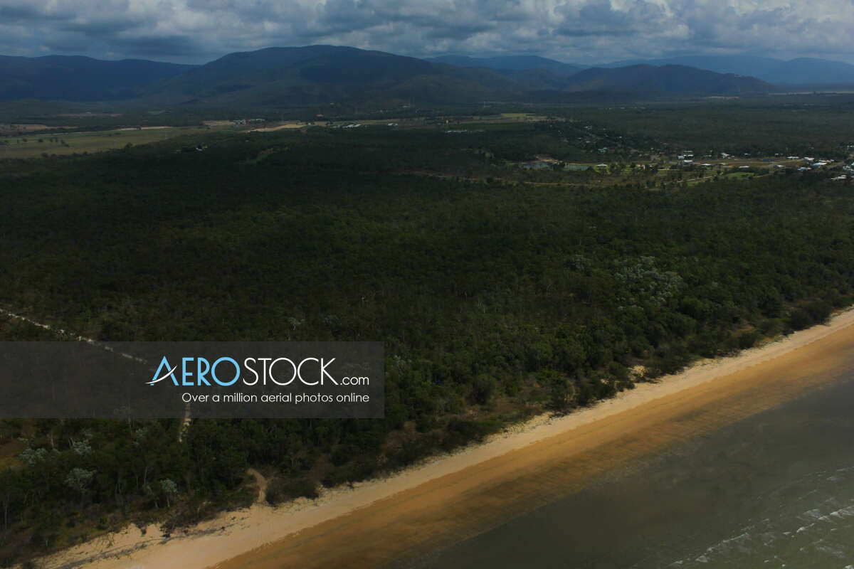 Affordable stock photo of Balgal Beach in Townsville.