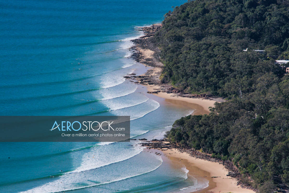 Aerial picture of Noosa, 4567.