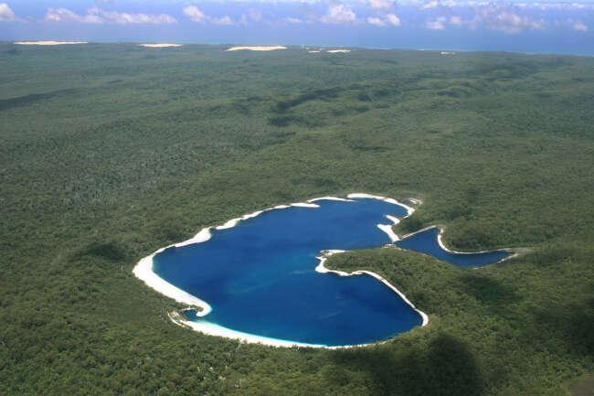 Fraser Island 4581, Lake McKenzie