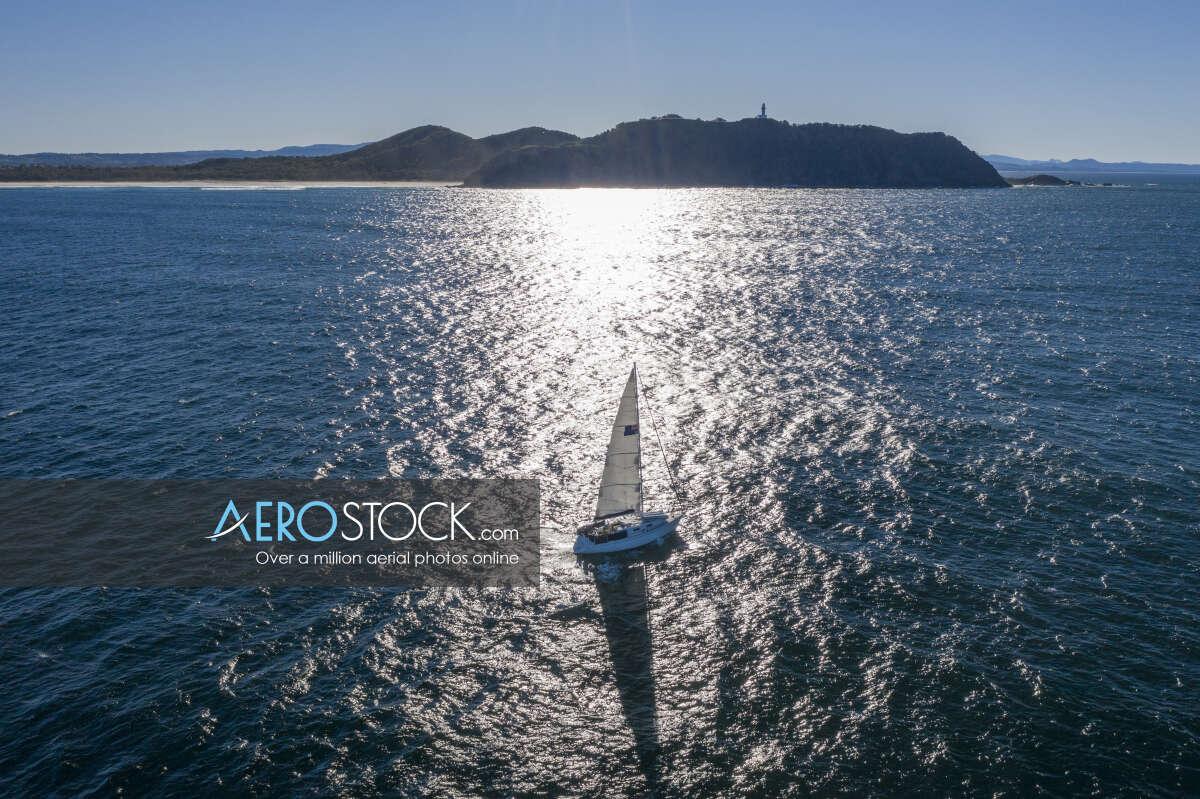 Byron Bay Sailng Boat