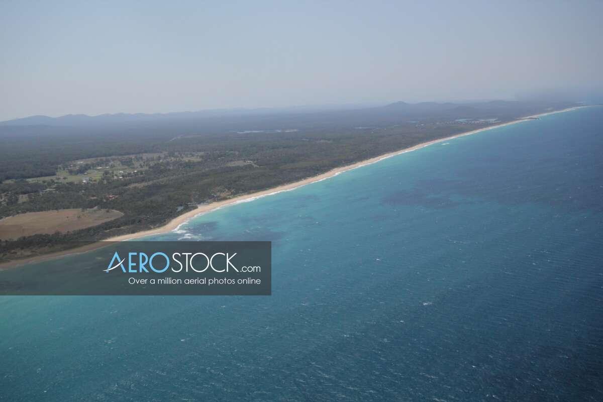 High res snapshot of Corindi Beach, Coffs Harbour.