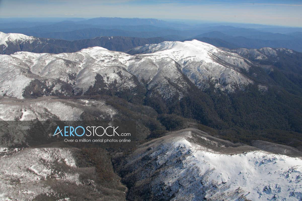 High res panoramic aerial photo of Alpine.