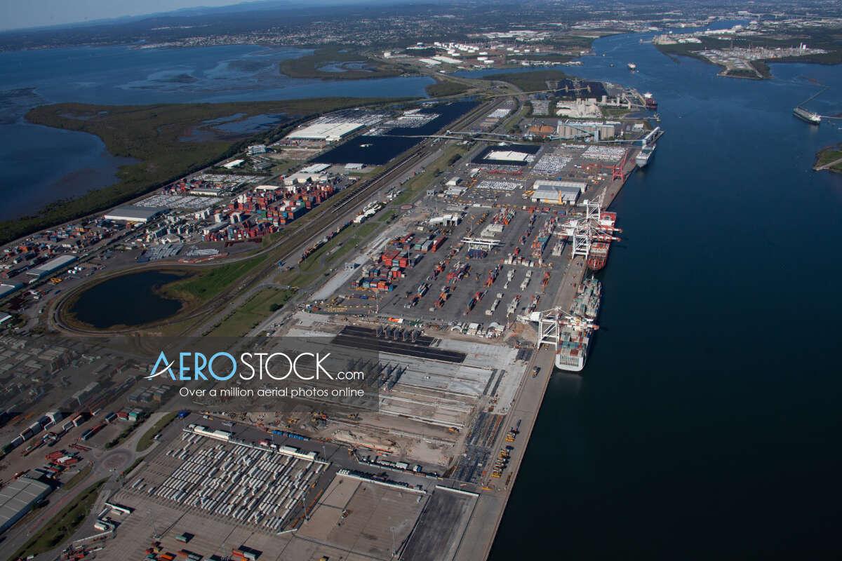 Stock photo of Port Of Brisbane, QLD