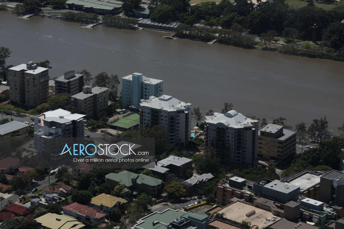 High resolution snapshot of Auchenflower, Brisbane.
