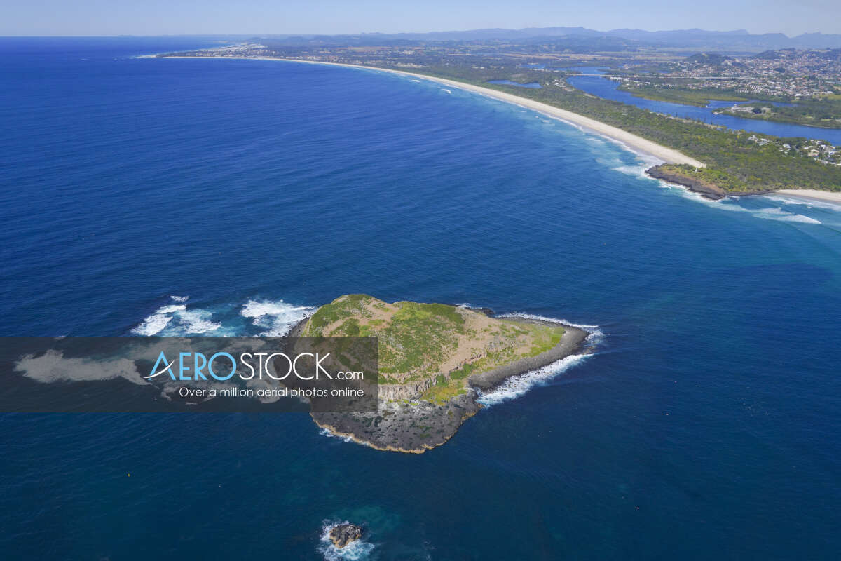 Affordable stock photo of Fingal Head in Tweed.