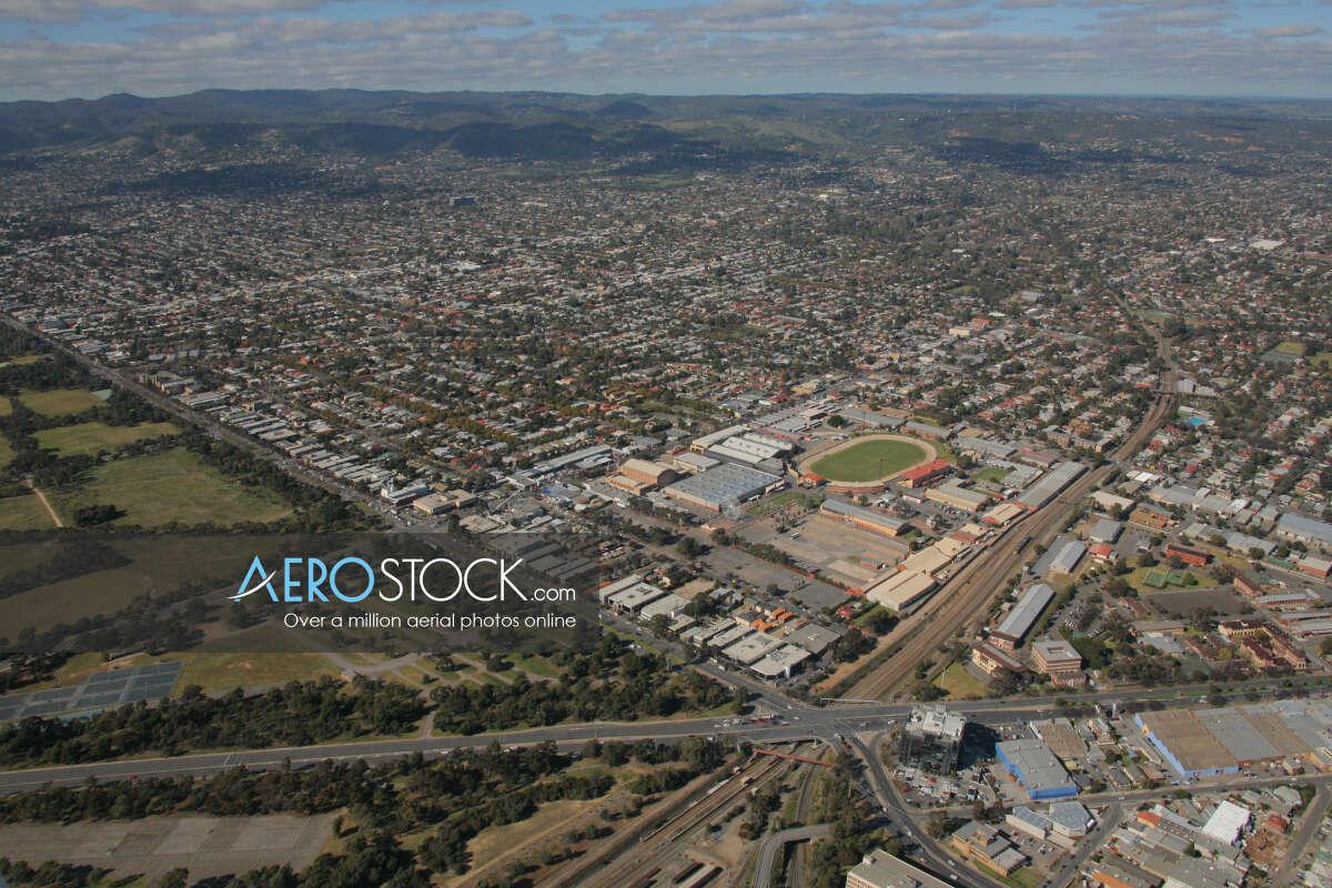 UAV stock photo of West Torrens