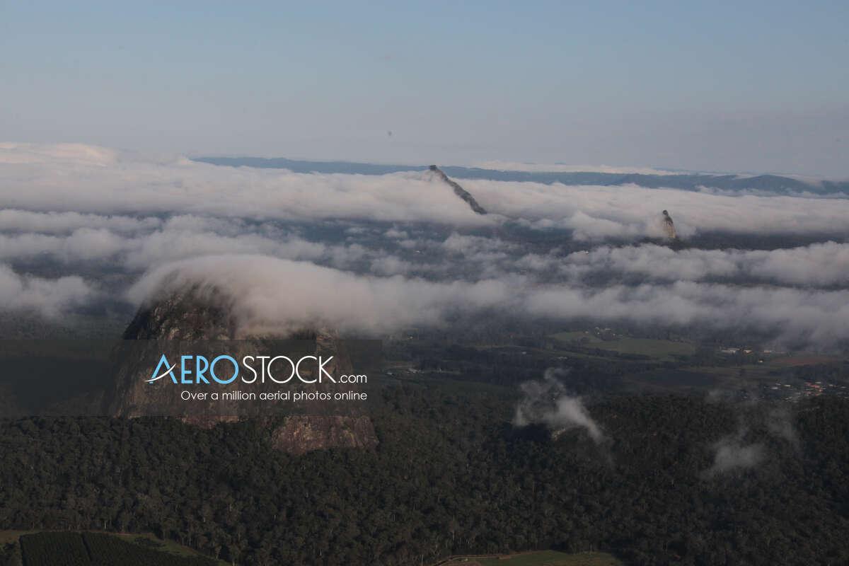Sky-high pic of Sunshine Coast, QLD