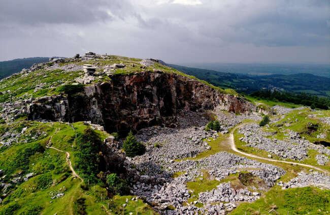 Bodmin Moor. Liskeard, Cornwall England