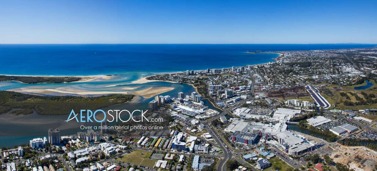 Incredible aerial pic of Sunshine Coast