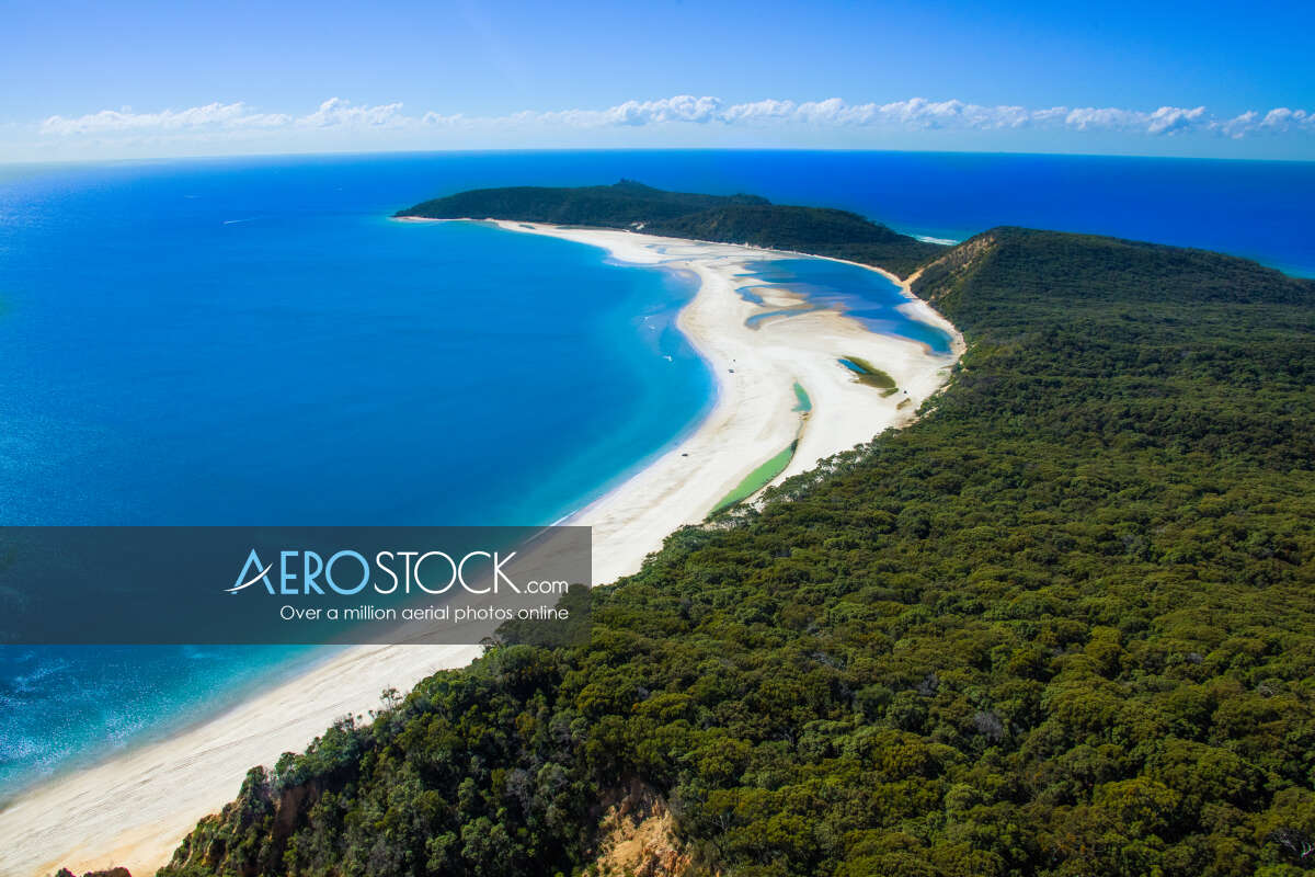 Sharp and finely detailed photo of Rainbow Beach ready to download