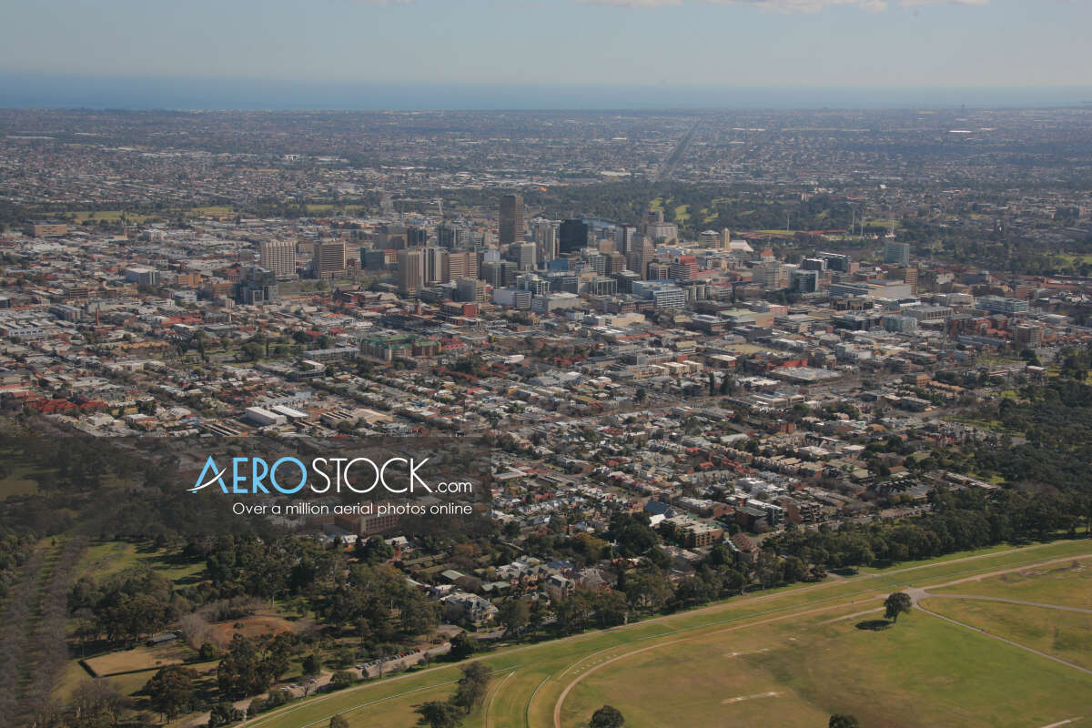 High definition panoramic aerial photo of Burnside.
