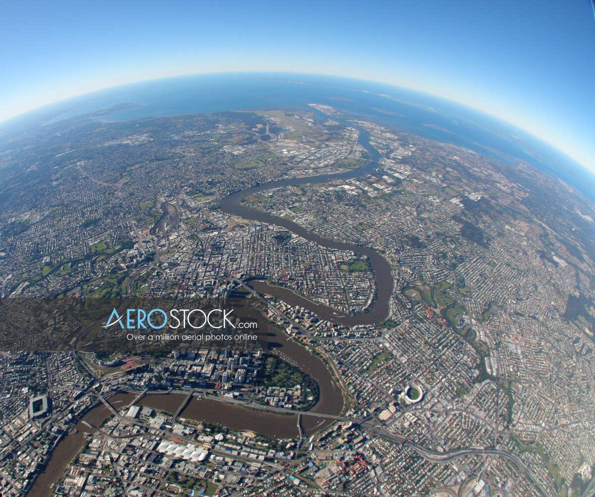 Aircraft image of Auchenflower, Brisbane