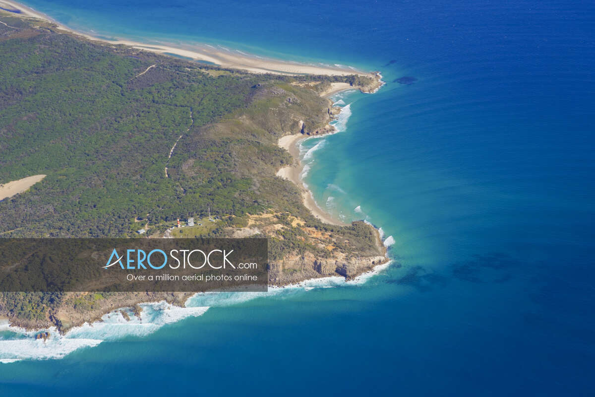Sky-high stock photo of Brisbane