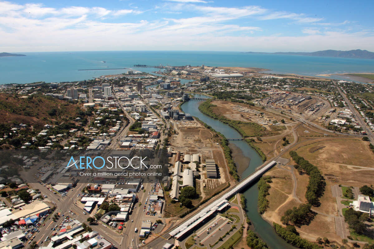 High res stock photo of Townsville in QLD