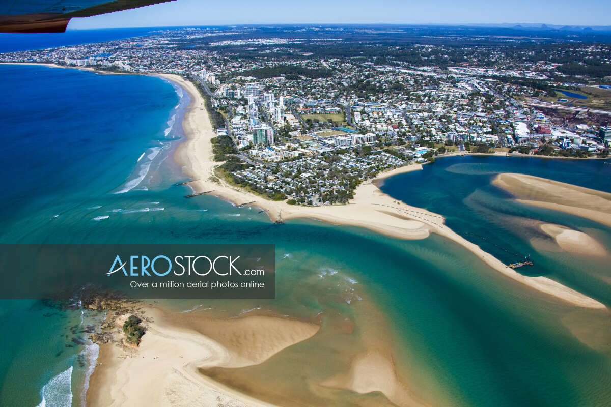 UAV stock image of Maroochydore taken on the August 8th, 2017 11:33