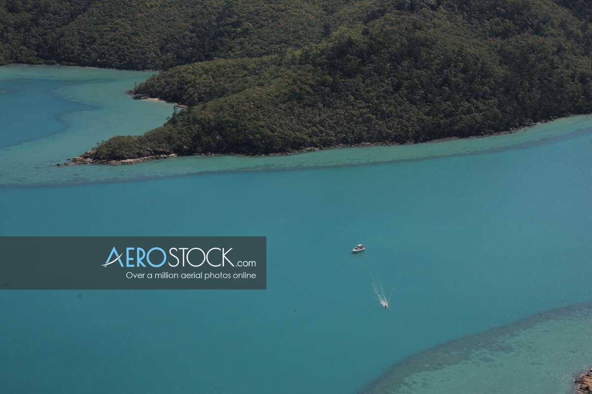 Sharp and finely detailed stock photo of Whitsunday in QLD.