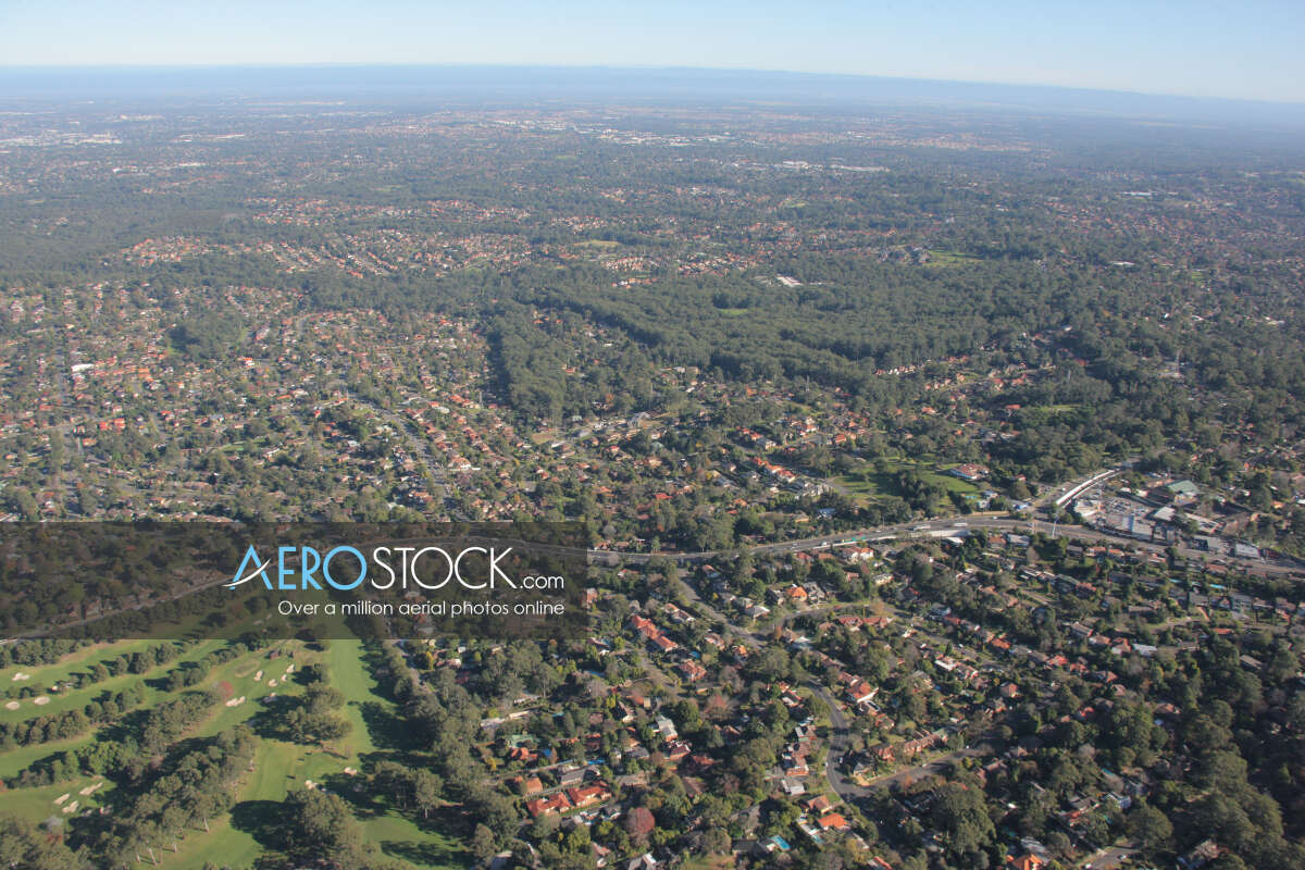 High resolution stock photo of Beecroft, New South Wales.