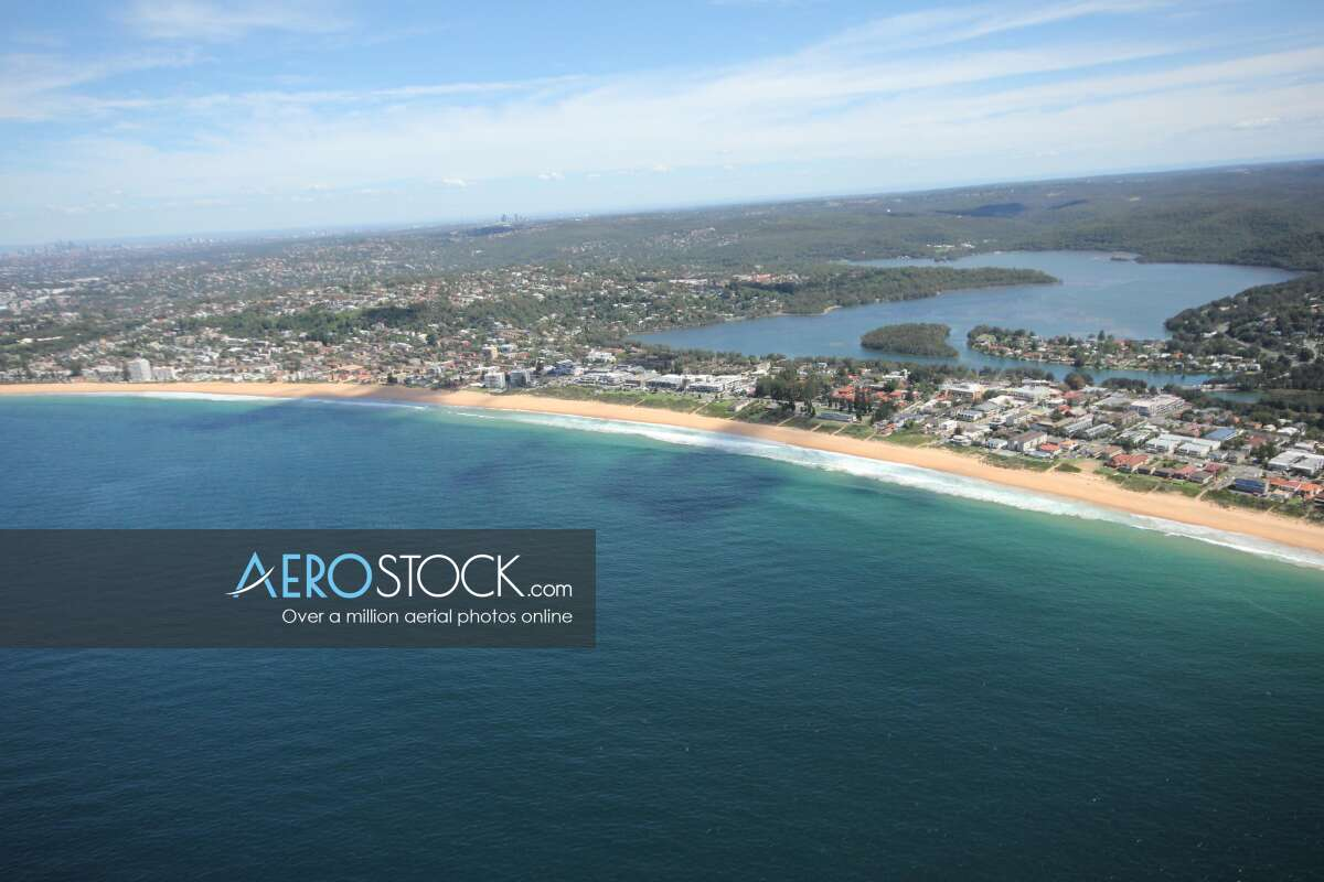 Amazing aircraft pic of Northern Beaches