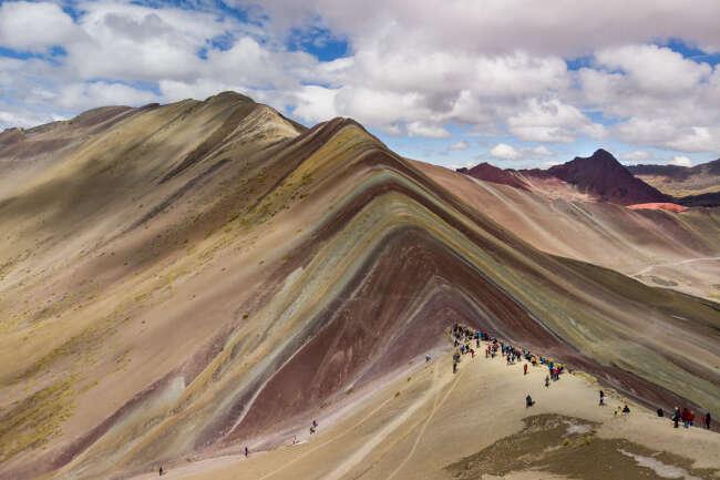 Rainbow Mountain 3, Peru