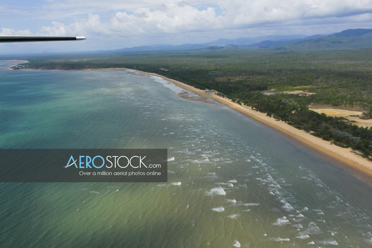 Full size stock image of Balgal Beach, QLD.