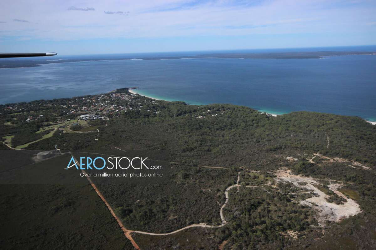 Panoramic aerial photo of Shoalhaven taken on March 18th, 2014 15:00.