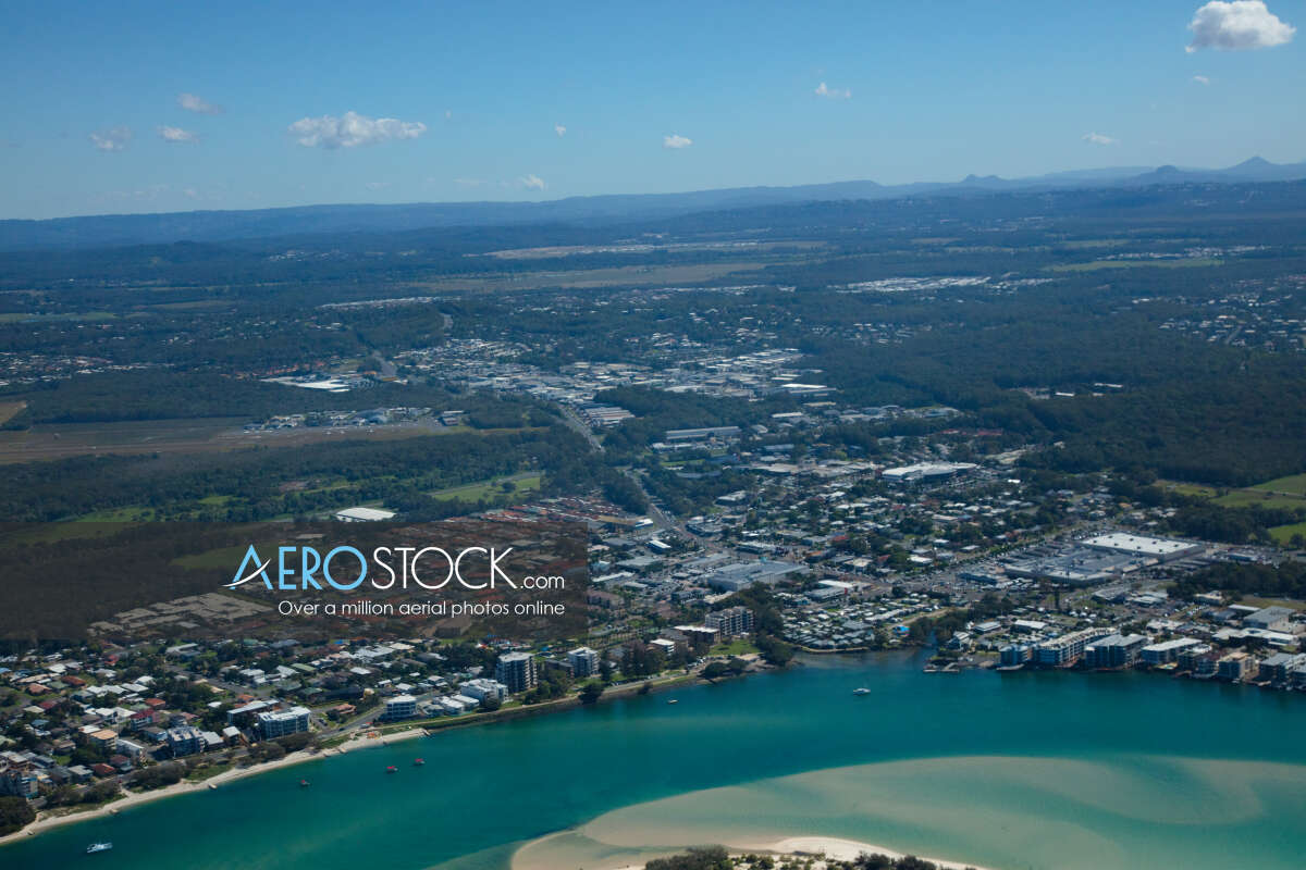 Drone stock image of Caloundra taken on the May 7th, 2019 10:43