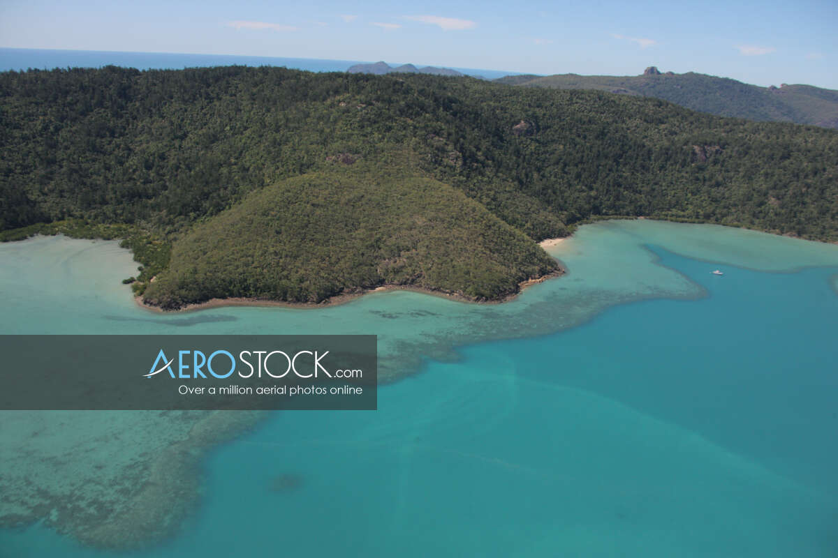 Drone image of Whitsunday taken on the June 1st, 2010 11:43.