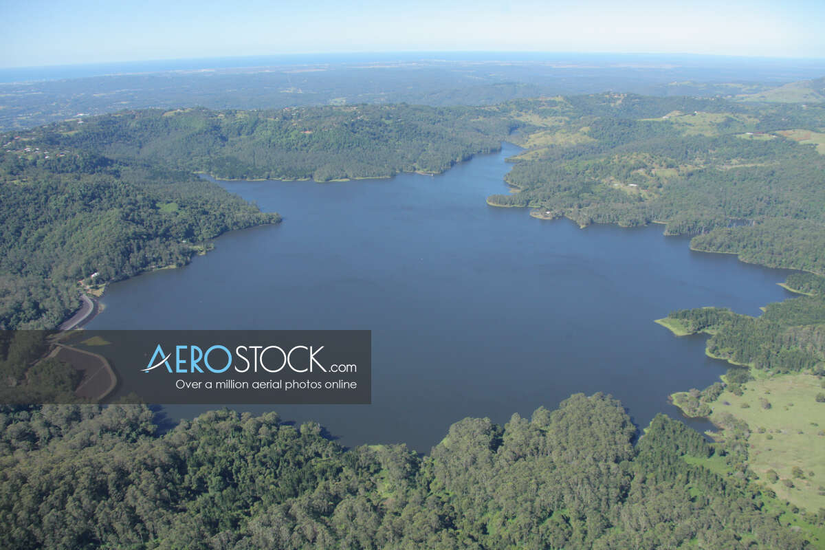 Aerial stock image of Witta taken on the May 19th, 2013 12:30