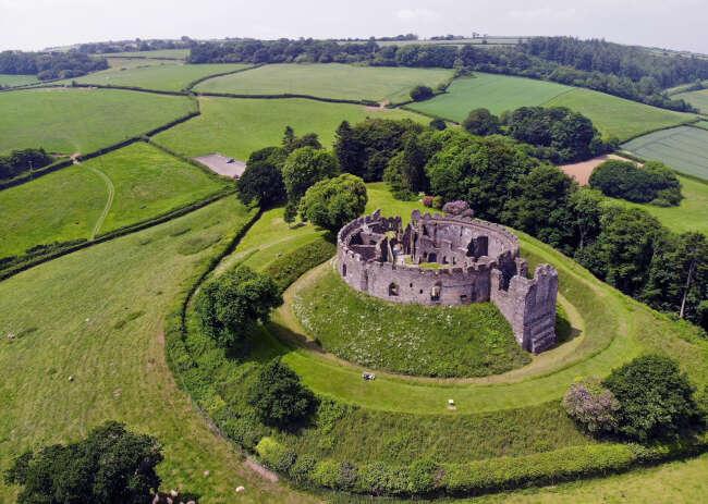Restormal Castle, Cornwall England