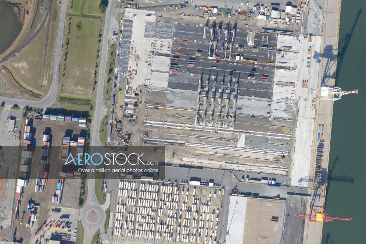Cost effective stock image of Port Of Brisbane in Brisbane.
