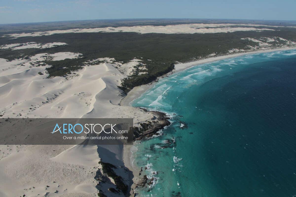 UAV stock photo of Esperance.