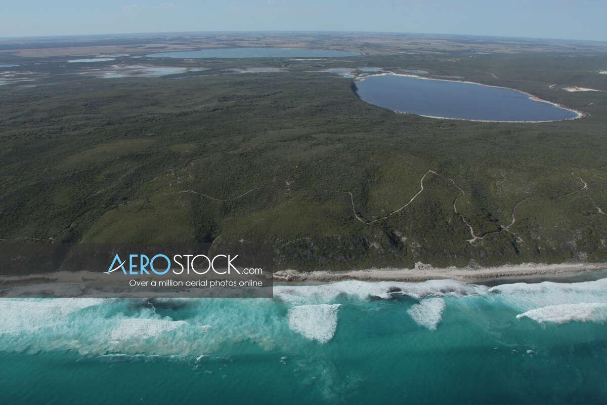 Full size panoramic aerial photo of Esperance