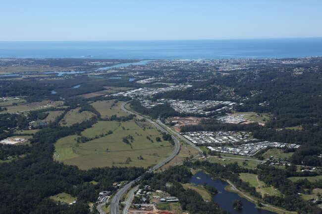 Aerial photo of Forest Glen, Sunshine Coast Queensland